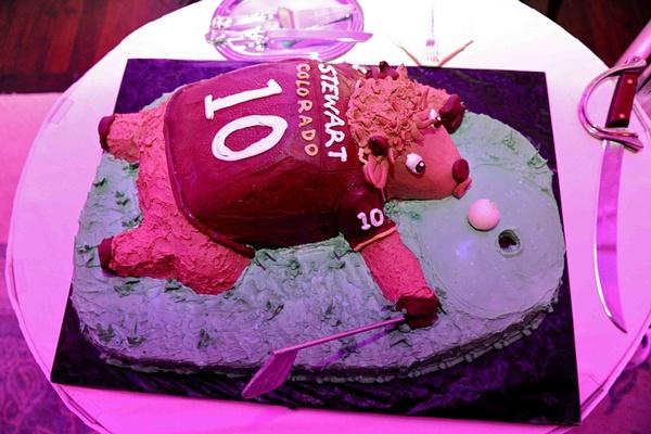 Kordell Stewart's Colorado Buffaloes cake