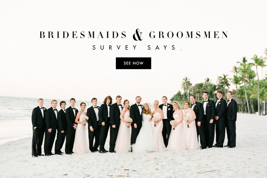 Bridal party enjoys Florida's fair weather.