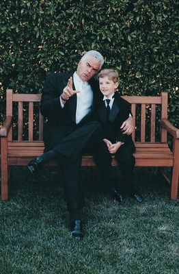 john o'hurley talks to young male guest