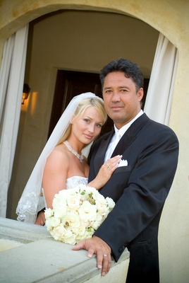 Ron Darling, former pitcher for the NY Mets, and his bride