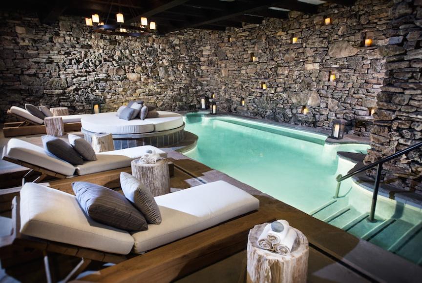 Missouri Ozarks spa at Big Cedar Lodge