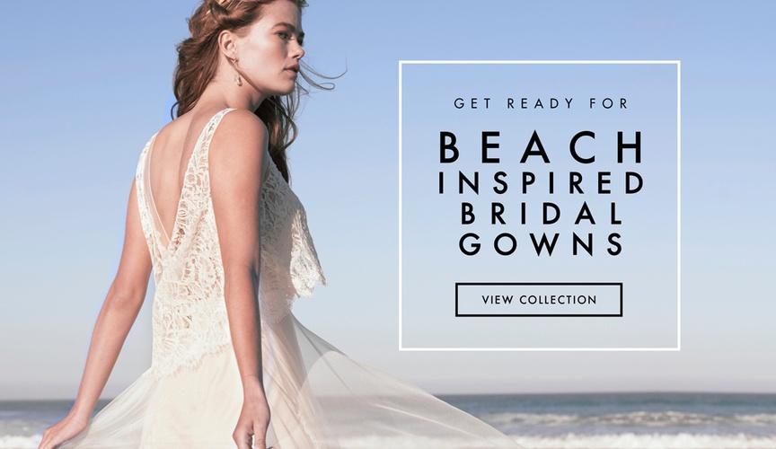 BHLDN Summer Loves wedding dress collection