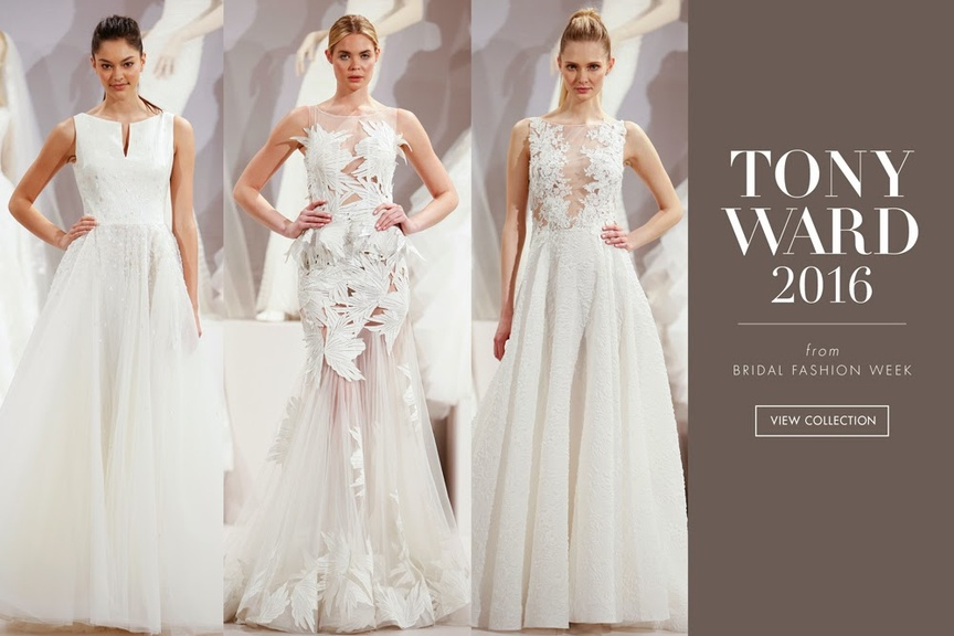 Wedding dresses from the Tony Ward 2016 collection