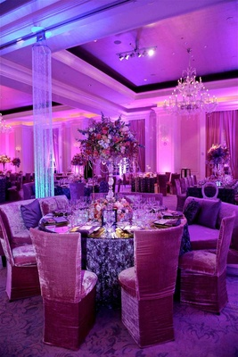 Decor at Porsha Williams and Kordell Stewart's wedding