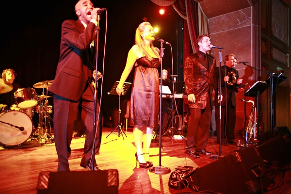 West Coast Music musicians perform at reception