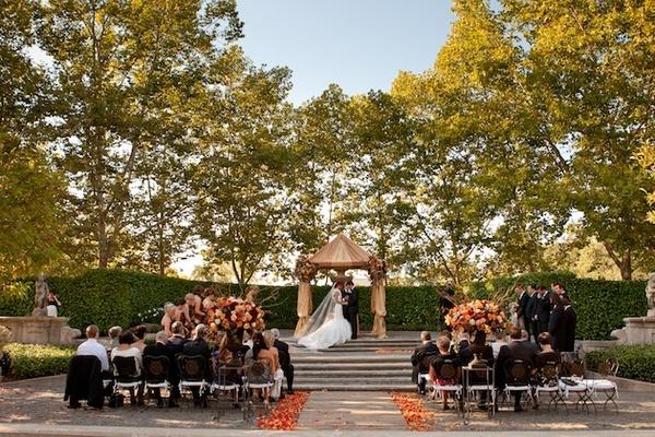 Beaulieu Garden wedding in Rutherford, California