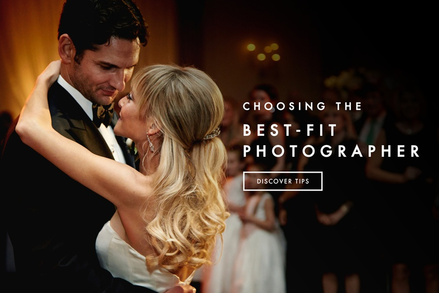 Bride and groom share first dance in pretty wedding photo