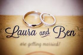 diamond wedding band and silver wedding band