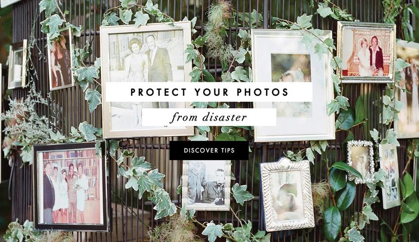 The secrets to keeping family wedding photos safe