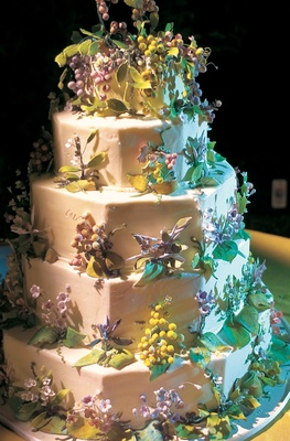 vine wedding cake tuscan inspired vineyard wedding in malibu california 21596