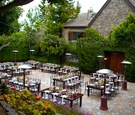 Malibu Stone Manor outdoor wedding reception