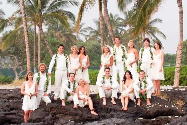 All White Wedding Party Attire Photography Stewart Pinsky Photography Read More