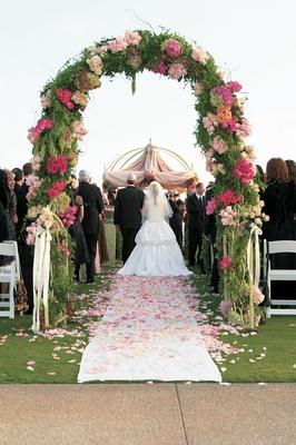 Garden Theme Oceanfront Wedding At Montage Laguna Beach