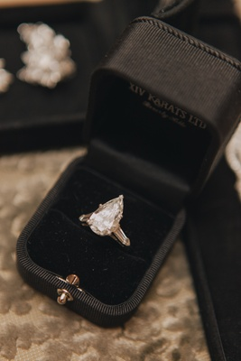 Pear-Shaped Engagement Ring Photography: Kris Kan Read ...
