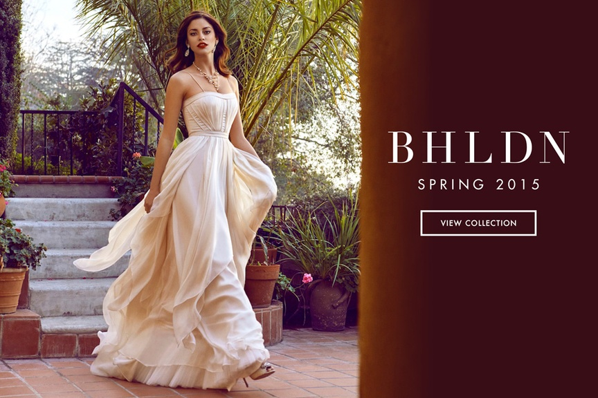 Wedding Dresses from BHLDN