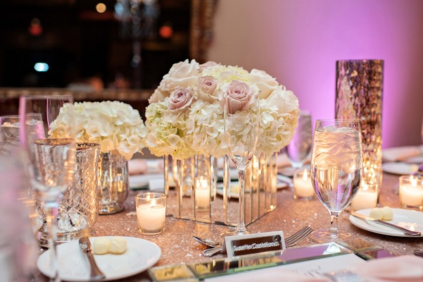 Elegant summer wedding with timeless color palette in