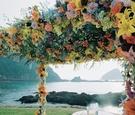 El Careyes Resort & Spa oceanfront ceremony décor