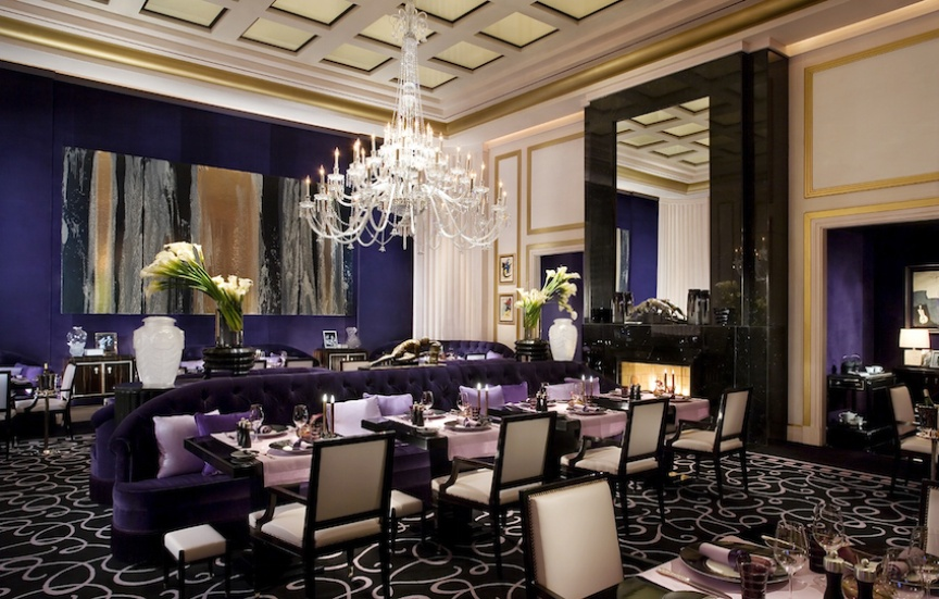 Joel Robuchon Restaurant at MGM Grand wedding package