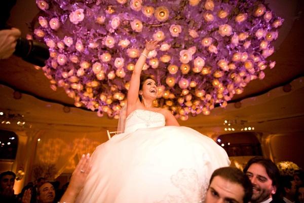 Armenian Hora dance in grand ballroom