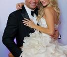 Joanna Krupa and Romain Zago at Miami wedding