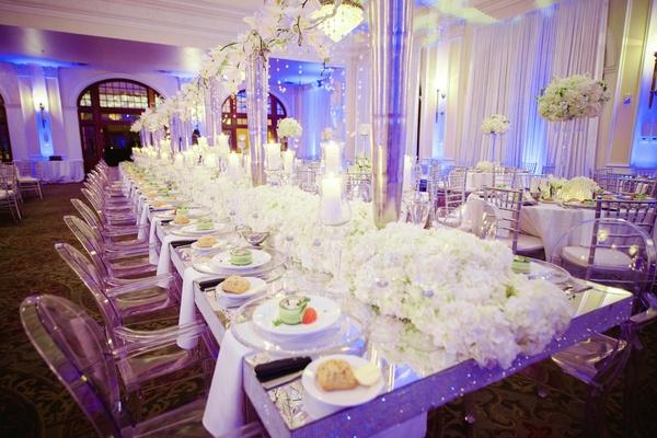 An All White Winter Wedding In Houston Texas