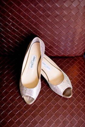 silver peep toe shoes