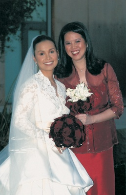Filipina Singer Lea Salonga's Red Wedding in Los Angeles ...
