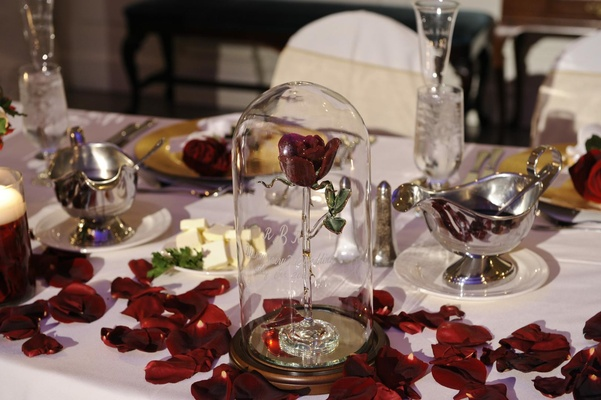 Disney's Fairy Tale Weddings reception table