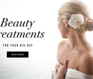 Wedding day beauty treatments for skin and weight