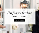 See grooms from real weddings see their brides during first look