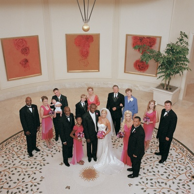 St. Regis Monarch Beach circular room group portrait