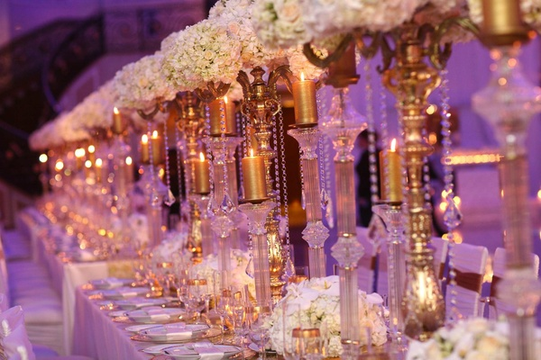 White Gold And Purple Wedding Decorations: Best images about ...