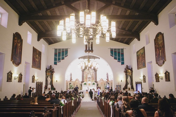 Spanish Style Ceremony Amp Outdoor Ranch Wedding Reception