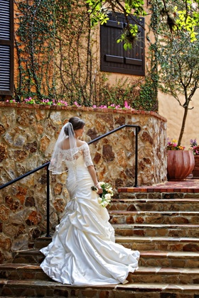 Maggie Sottero corset style wedding dress