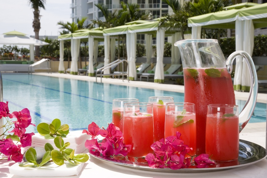 """Discover Conrad Miami's """"It's About Time!"""" romantic getaway package."""