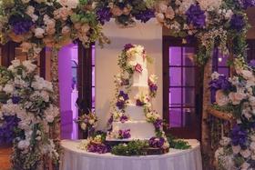 Nick Carter and Lauren Kitt's wedding cake