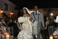 Porsha Williams and Kordell Stewart exit ceremony