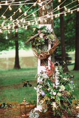 A Bohemian Inspired Wedding Shoot In An Enchanted Forest