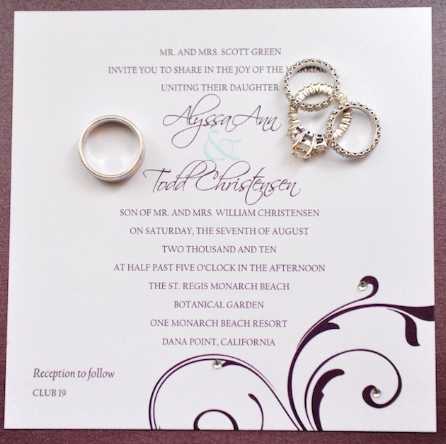 wedding invitations | 21st - bridal world - wedding ideas and trends, Wedding invitations