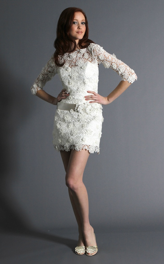 Short wedding dresses inside weddings for Wedding dress ideas for short brides