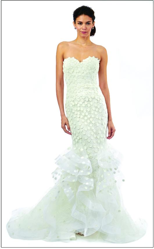 Oscar De La Rentas 10 Most Mesmerizing Wedding Dresses Inside Weddings