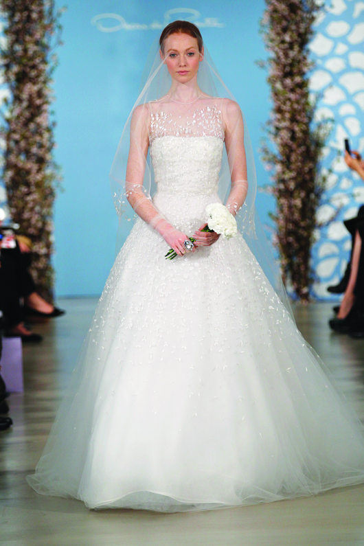 Oscar De La Rentas 10 Most Mesmerizing Wedding Dresses